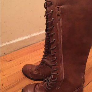 Shoes - Knee high winter boots